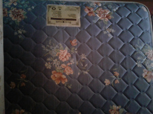 Double mattress and boxspring set for sale