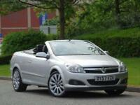 2007 Vauxhall Astra 1.8 Design Twin Top+RARE AUTOMATIC+FSH+WARRANTY+ CONVERTIBLE