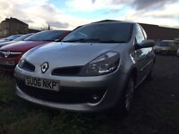 06 plate Renault Clio 1.4 petrol full history including timing belt