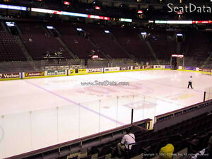 Reduced $ Senators at Montreal Canadians ticket -Package for 2