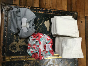 Cloth diapers. Newborn and preemie