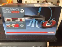 New miele cat and dog c3 powerline vacuum cleaner