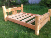 Custom Queen size Timber Frame Bed 990$ OBO