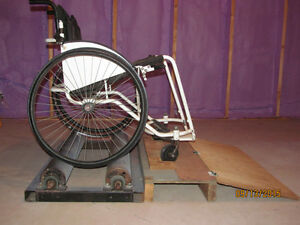 Treadmill for Wheelchair Users