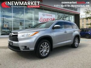 2016 Toyota Highlander XLE  - one owner - trade-in - $122.45 /Wk