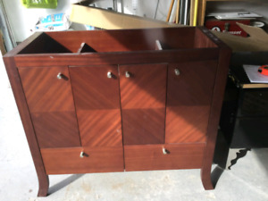 Brand New Wood Bathroom Vanity Cabinet