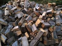 2 cubic metres of clean firewood delivered locally