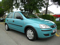 VAUXHALL CORSA 1.0 2004 LIFE ONLY 55,000 MILES COMPLETE WITH M.O.T HPI CLEAR
