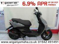 YAMAHA YN50F NEOS 4 STROKE. 21 REG 0 MILES, 50cc AUTOMATIC MOPED SCOOTER...