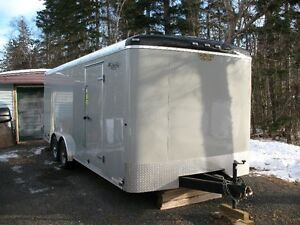 Like new  2015 20' X 8.5' Continental Cargo Enclosed Trailer