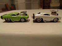 Loose 2 Funline Muscle Machines Blown 1969 '69 Dodge Charger R/T
