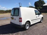 Volkswagen Caddy 1.6 102PS STARTLINE EURO 5 DIESEL MANUAL WHITE (2014)