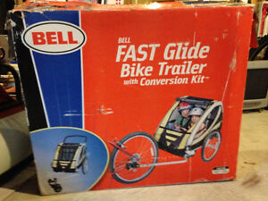 Bell - Fast Glide Double Bike Trailer - Used once St. John's Newfoundland image 2