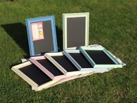 Magnetic chalk boards
