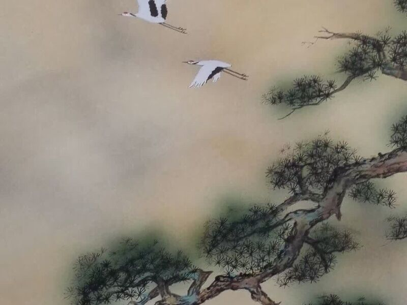 Beautiful Antique Chinese Paintings/Calligraphy