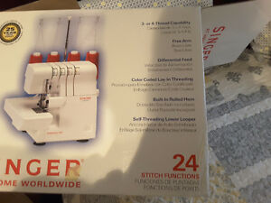 SINGER SERGER Kingston Kingston Area image 1