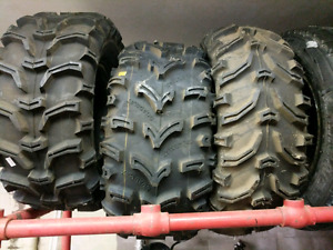 Single atv tires