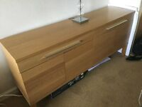 Ikea sideboard and Unit