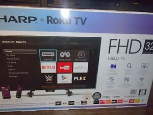 Sharp Roku TV - Brand New Unopened Box
