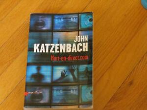 MORT EN DIRECT.COM* // / J. KATZENBACH   / littérature ROMAN