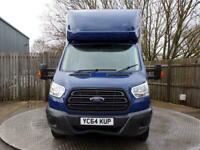 "2014 Ford Transit 2.2 TDCi 350 RWD L4 H1 125ps 13FT 5"" Body Luton Diesel"