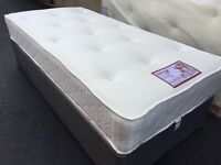 "✅ LUXURY BALMORAL 11"" INCH DEEP DOUBLE MATTRESSES - MEMORY FOAM & SPRUNG"