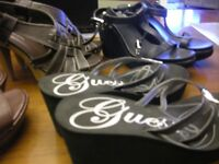 9 pair of ladies size 7 shoes