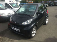 Smart fortwo 1.0mhd ( 71bhp ) Softouch 2011MY Pulse 62k only£30 tax