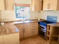 CHEAP THREE BED STATIC CARAVAN FOR SALE, ASHCROFT COAST - REDUCED FOR QUICK SALE