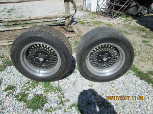 4 16'' rims and tires