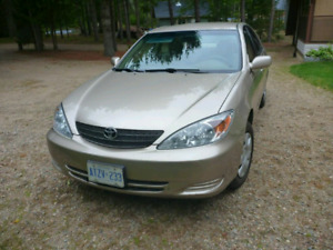 2004 Toyota Camry, 4 cyl, automatic