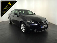 2014 64 LEXUS IS 300H EXECUTIVE EDITION HYBRID 1 OWNER FINANCE PX WELCOME