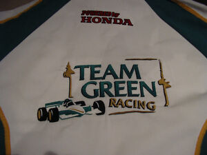 Paul Tracy Canadian Indy car driver signed pit crew shirt Windsor Region Ontario image 1