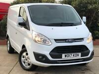 2017 Ford Transit Custom 2.0 TDCi 130ps Low Roof Limited Van 4 door Panel Van