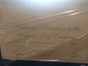 1670-1970 Historical Paintings of the Hudson's Bay Company. RARE