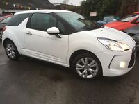 Citroen DS3 1.6 16V VTI DSTYLE 120HP (white) 2011
