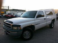 1999 Dodge Power Ram 1500 ST 5.9 L. 150,000 KM. pick up