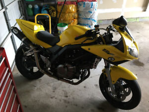 SV650s - with mods