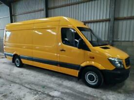 2015 Mercedes-Benz Sprinter 313 CDI LWB High Roof Van PANEL VAN Diesel Manual