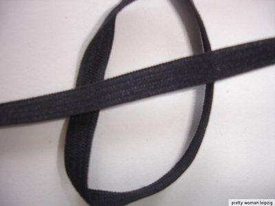 10m Gummiband 0,20€/m marine 5mm breit Webgummi ED64