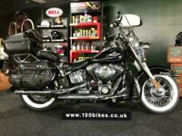 2010/60 HARLEY-DAVIDSON FLSTC SOFTAIL HERITAGE CLASSIC 1590 HUGE EXTRA'S