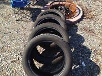 All season pirelli tires.. 20's