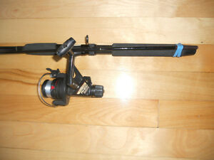 Moulinet canne a peche, comme neuf, a Truite, Fishing rod reel