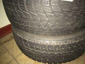 2 pneu d'hiver 205 60 15 - winter tires