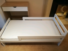 Toddler bed with mothercare mattress Excellent condit