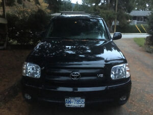Toyota Tundra double cab 4wd limited