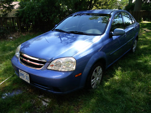 2004 Chevrolet Optra LS Sedan SAFTIED AND eTESTED!