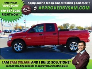 RAM 1500 - HIGH RISK LOANS - LESS QUESTIONS - APPROVEDBYSAM.COM