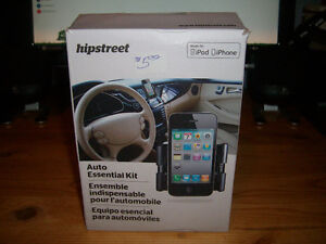 HIPSTREET AUDIO ESSENTIAL KIT - CHARGER AUXILIARY CABLE