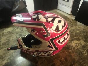 FXR winter helmet